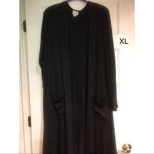 XL Black Sarah Cardigan